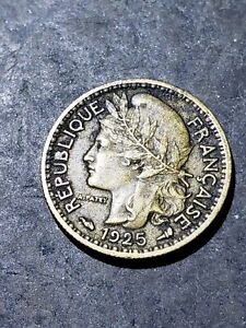 1925 Togo (French Mandate) 50 Centimes Coin #9995