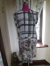 Amazing All Saints Roka Kinori Dress Grey  Size 10 BNWT