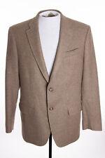 Maus & Hoffman Mens 40R Brown Wool Cashmere Blend Blazer Jacket Sports Suit Coat