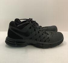 Nike Lunar Fingertrap TR Men's 9 Black Lace Up Training Shoes