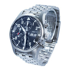 IWC Pilot Chronograph Spitfire Automatic Slate-coloured Dial Men Watch IW377719