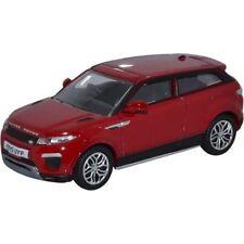 Oxford 213912 Range Rover Evoque Coupé rouge échelle 1:76 Nouveau! °