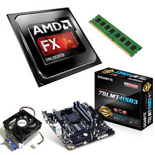 AMD FX 8350 Eight Core 4.20GHz 8GB Gigabyte 78LMT-USB3 Motherboard Bundle