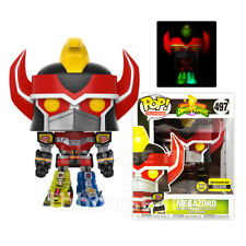 GLOW gid METALLIC MEGAZORD figure POWER RANGERS vinyl POP! TELEVISION tv FUNKO