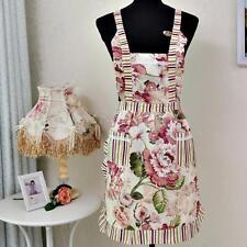 Hot Women Lady Cotton Apron Dress Restaurant Home Kitchen Pocket Cooking Bib
