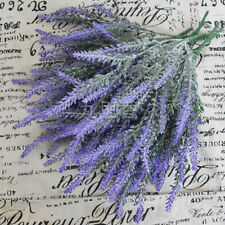 5-Heads Bouquet Silk Artificial Lavender,Fake Garden Plant,Flower Home Decors
