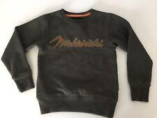 Maharishi MHI Boys Jumper, Sweatshirt, Size Age 4, Khaki Green, Vgc