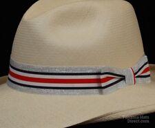 Hat band 63 -Nautical Shimm - Men Ladies Sun Panama Hat fedora Replacement strap