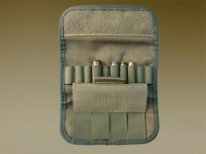 TACTICAL VELCR0 AMMO POUCH 10 ROUNDS AK SHELL HOLDER BANDOLIER 10 GAUGE CASE BAG