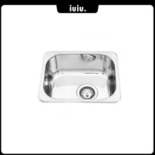 Small Drop-in / Under Mount Laundry Kitchen Sink No Tap Hole