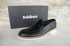 Baldinini Taille 44 Mocassins Chaussures Noir Neuf Ci-Devant Prix Recommandé