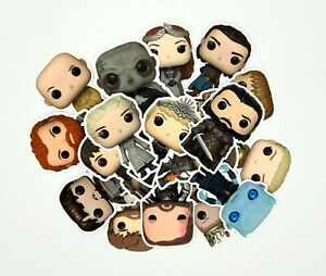 Game of Thrones Funko Pop Character Stickers