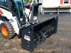 NEW BOBCAT SB240 SNOWBLOWER FOR SKID STEERS, 72' WIDTH, 2 STAGE, HYDRAULIC CHUTE