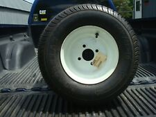 New 205/65-10 Load Star 4 Hole Tire & Wheel Assy For Snowmobile/Utility Trailers