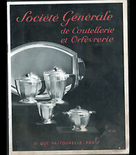 "PARIS (III°) Catalogue COUTELLERIE ORFEVRERIE ""APOLLO"" en 1934"