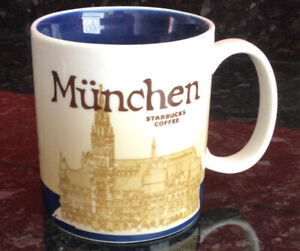 "Starbucks Global Icon Series ""Munchen"" Mug- New"