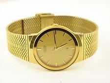 Men's Seiko Gold-Tone Watch Gold Dial (Model: 6031-G08652 Y0)