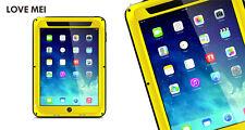 Love Mei spritz Wasserdicht Stabiles Metallgehäuse Schutz für iPad Air gelb