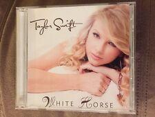 White Horse By Taylor Swift (USDJ Promo CD, 2008, Big Machine) EXTREMELY RARE