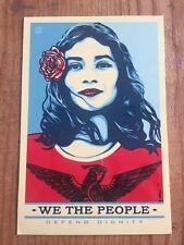 Ernesto yerena Shepard Fairey WE THE PEOPLE difendere la dignità Adesivo Vinile
