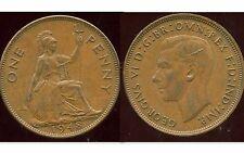 ROYAUME UNI  one penny 1948