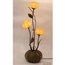 Oriental Yellow Paper Sphere Shade Lampshade Designer Floor Table Art Deco Lamp
