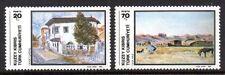 Cyprus / Turkish - 1984 Paintings Mi. 151-52 MNH