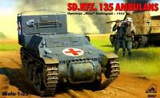 SD.KFZ 135 GERMAN ARMOURED AMBULANCE - STALINGRAD 1942 1/35 RPM panzer