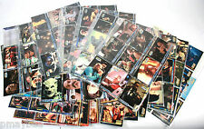 Lot of 255 Star Trek Trading Cards in Protective Sleeves & Binder Next Gen, DS9