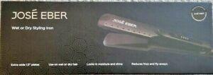 "$150 Jose Eber 1.5"" Wide Wet Dry Styling Flat Iron Hair Straightener 1657055 NEW"