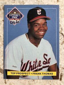 Frank Thomas 1990 Coca Cola Comiskey Rookie RC