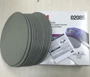 15Pcs/Box For 3M 02085 Trizact Hookit 6 Inch P3000 Grit Foam Disc Automotive