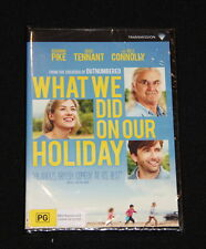 New DVD - What we did on our holiday starring Rosamund Pike & David Tennant