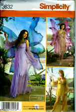 Fairy Costume Sprite Miss Size 14 16 18 20 Sewing Pattern SIMPLICITY UNCUT 3632