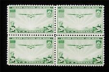 nystamps US Block Air Mail Stamp # C21 Mint OG H/NH $45 Block Of 4