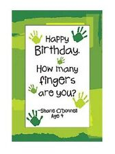 Kid Quips Birthday Card - HOW MANY FINGERS - #KQ-C-BDT18339
