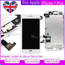 For iPhone 7 Plus Screen Replacement LCD Touch Digitizer Assembly White & Camera