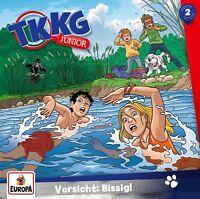TKKG JUNIOR - 002/VORSICHT: BISSIG!   CD NEU