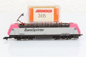 N Arnold 2435 Eurosprinter Siemens 127 001-5 Elektrolok E-Lok analog OVP/J55