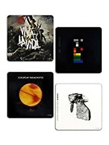 Coldplay boxed drinks coaster set (ro)