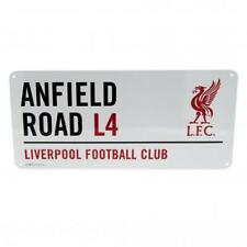 Liverpool FC Street Sign ANFIELD Road L4 LFC Team Fan Official Gift