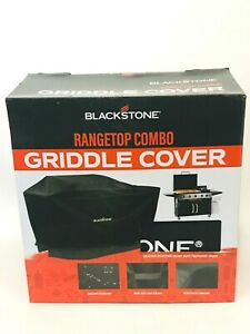Blackstone Rangetop Combo Griddle Cover Weather Protection, Black - NEW