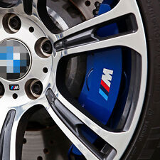4 Pcs M POWER BRAKE CALIPER Decal Sticker Cast Vinyl Anti High Temp For BMW s129