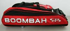 Boombah Baseball Softball Beast Bag Red Black Rolling MISSING FRONT FLAP