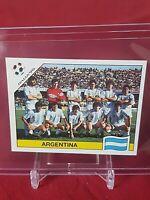 Argentina Team including Maradona World Cup Italia 90 Panini Sticker