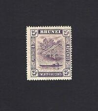 Brunei 1924 25c MM