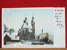 Farbkarte - Maria Saal - gel 1900 - Wallfahrtskirche - älteste Kirche Kärntens