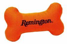 Canvas Orange Pet Puppy Dog Bone Squeaker Toy Remington ~ New