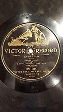 TALKING 78 rpm RECORD Victor JUAN DE DIOS PEZA Mexico EN MI BARRIO Spanish