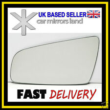 Left Near Side Wing Mirror Glass  Vauxhall Zafira B CONVEX 2005-2009